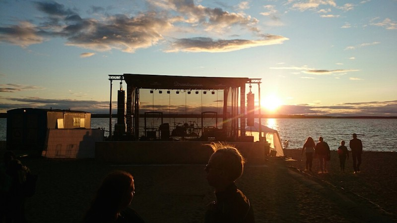 Stage with a view -  Luleå