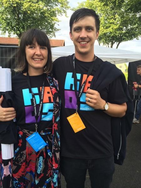 Arrangerade en festival med bla lillebror också - KAOS i Mellerud