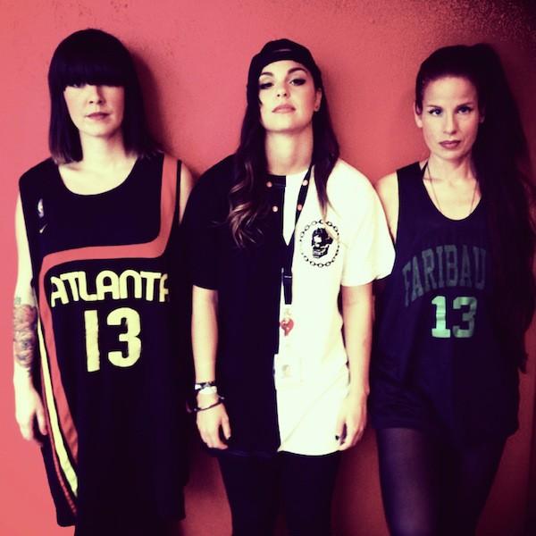 Alina, Rebecca och jag
