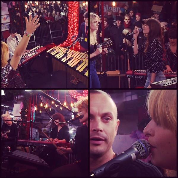 Avslutade året med tre besök på Musikhjälpen - Linnea Henriksson, Say Lou Lou och Petter!