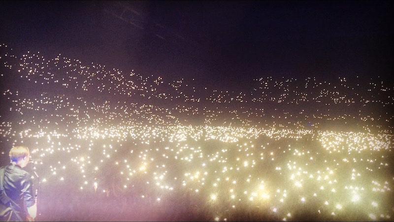 När 38 000 människor tänder sina ficklampor