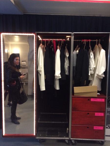 Malin och vår garderob